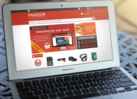Nouvelle création de site internet : Panosur