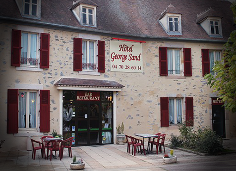 Site internet Hotel George Sand