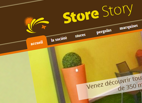 Site internet Store Story