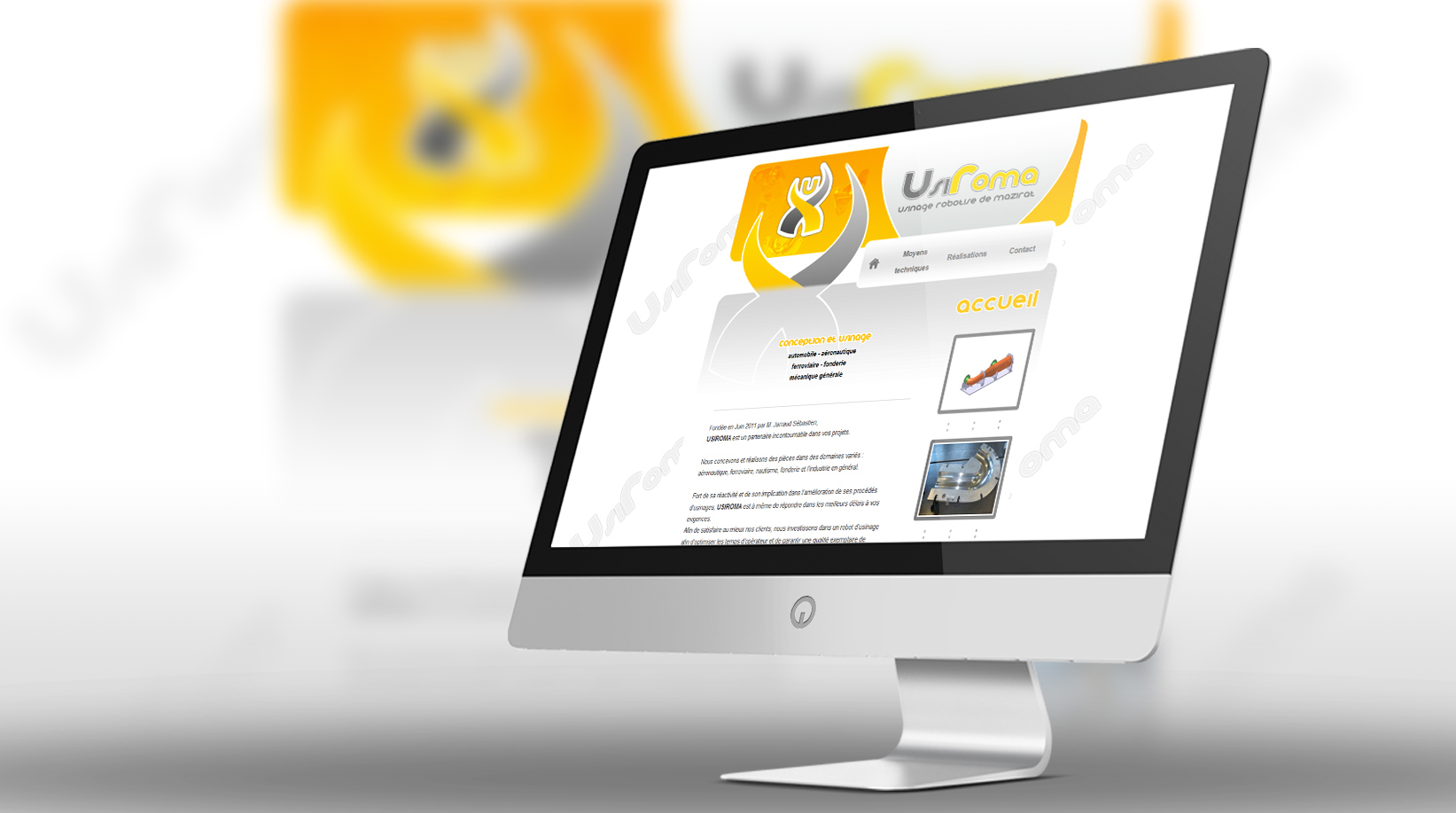 Site internet Usiroma