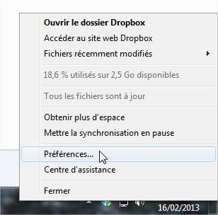 Déplacer le dossier Dropbox-2