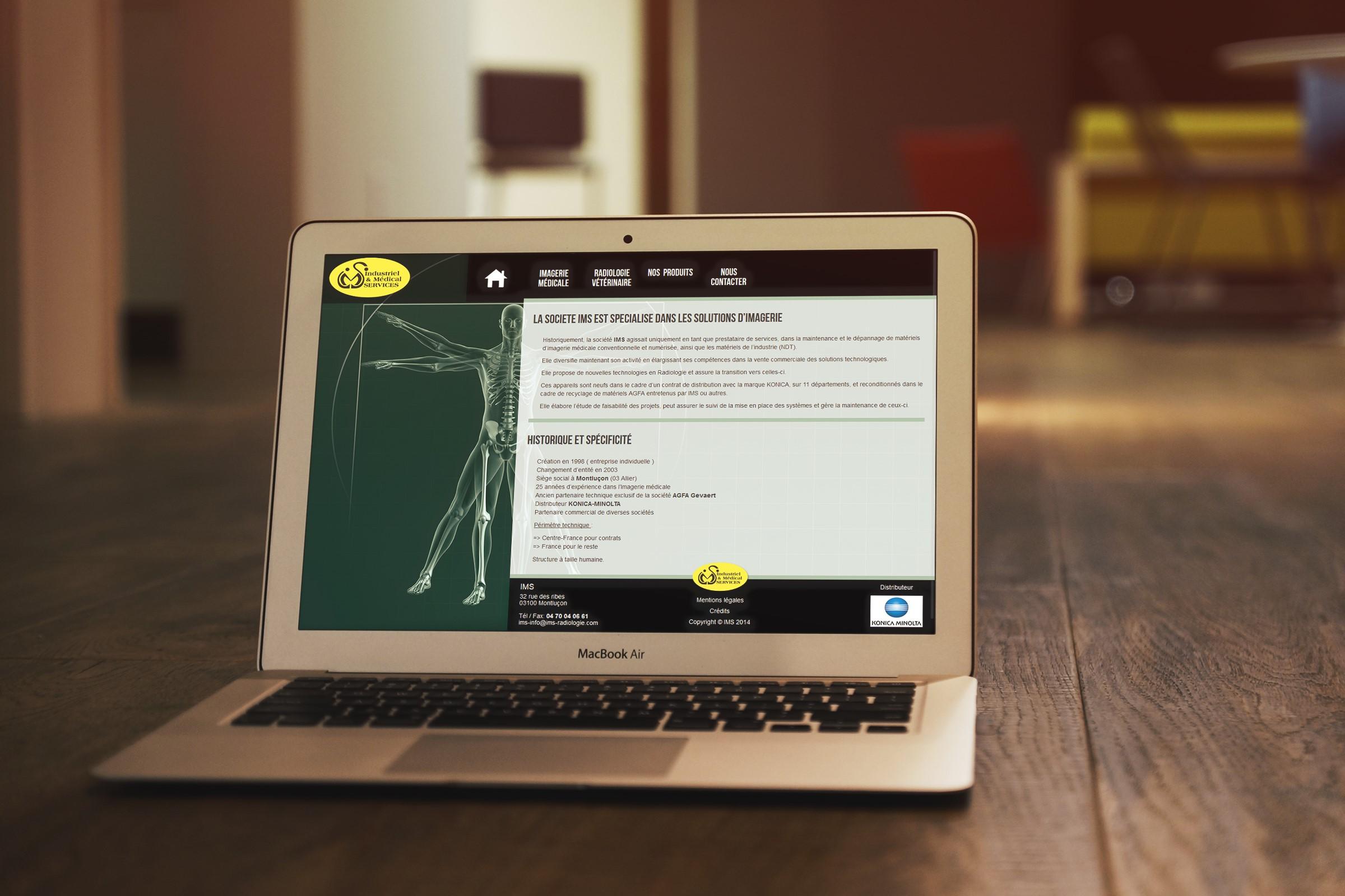 Site internet Industriel & Médical SERVICES