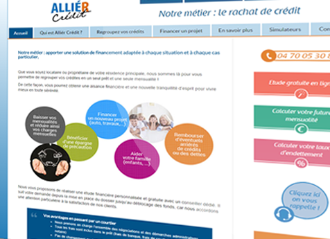 Site internet Allier Crédit