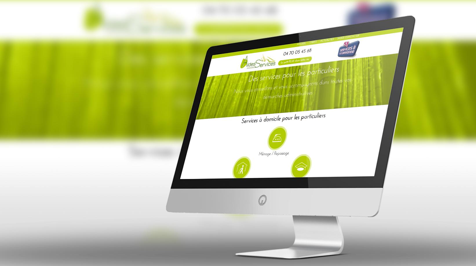 Site internet Aides Services