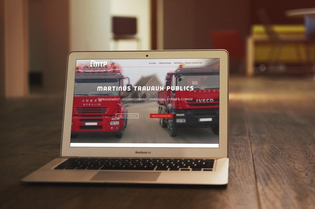 Site internet Martinus TP