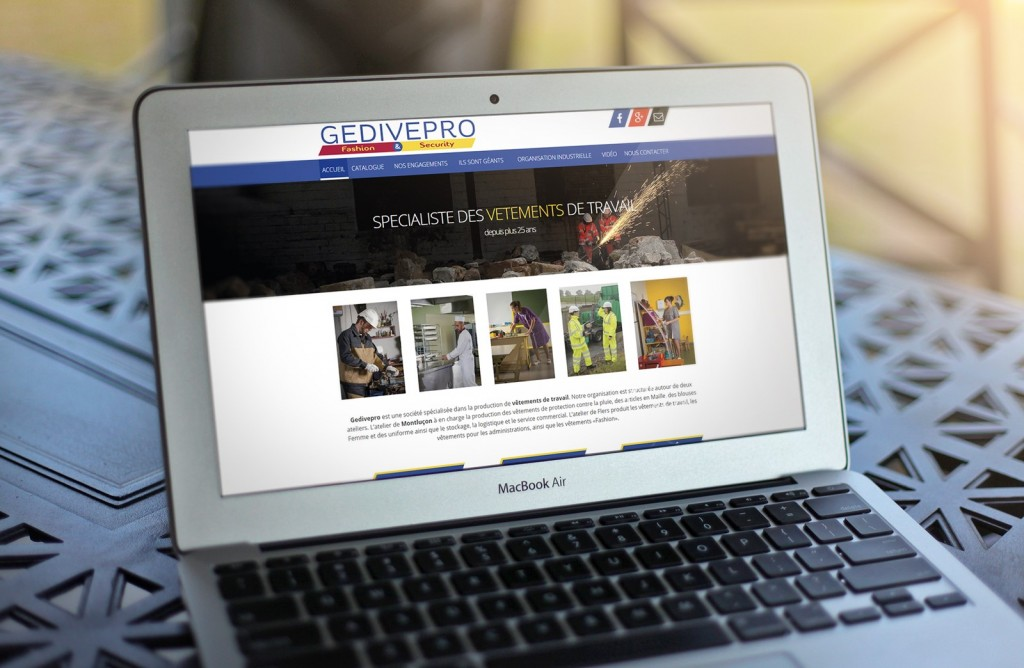 Site internet Gedivepro