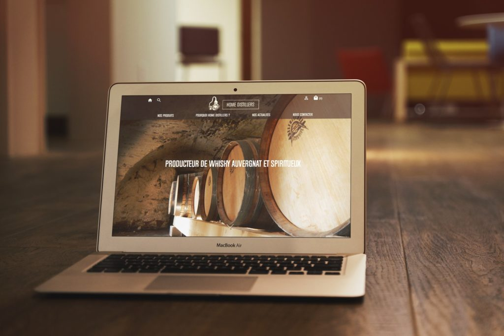 Home Distillers - Création de site internet ecommerce