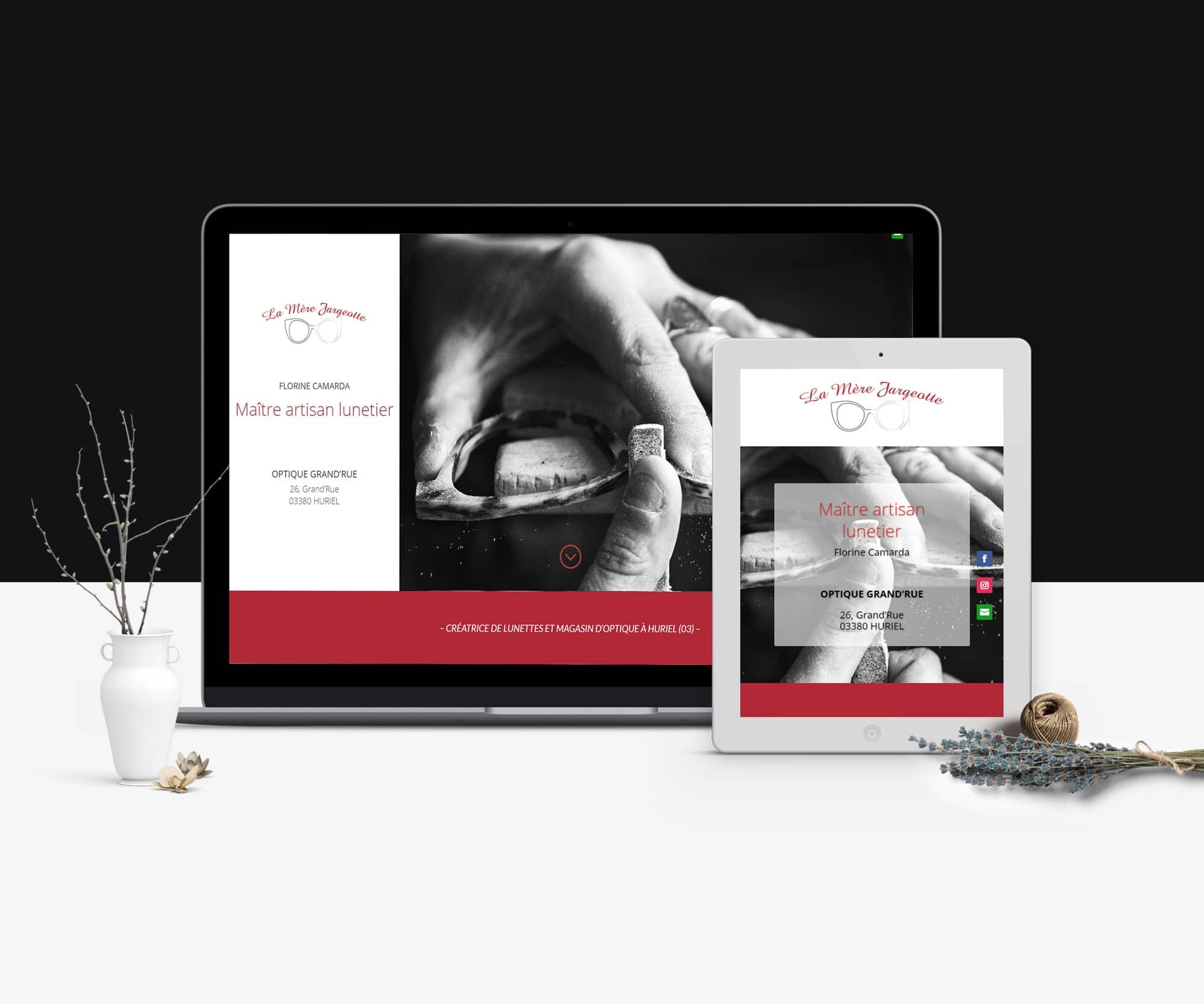 Création de site internet La Mère JArgeotte